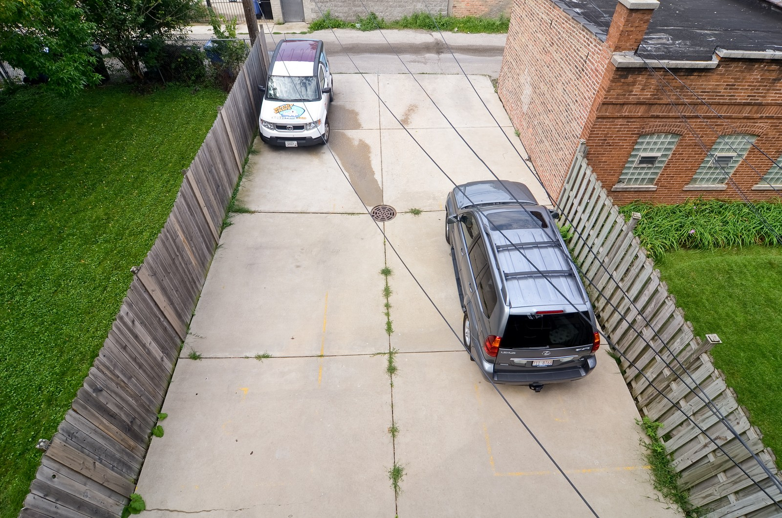 Real Estate Photography - 2068 N Humboldt Blvd, Unit 2, Chicago, IL, 60647 - Parking Area
