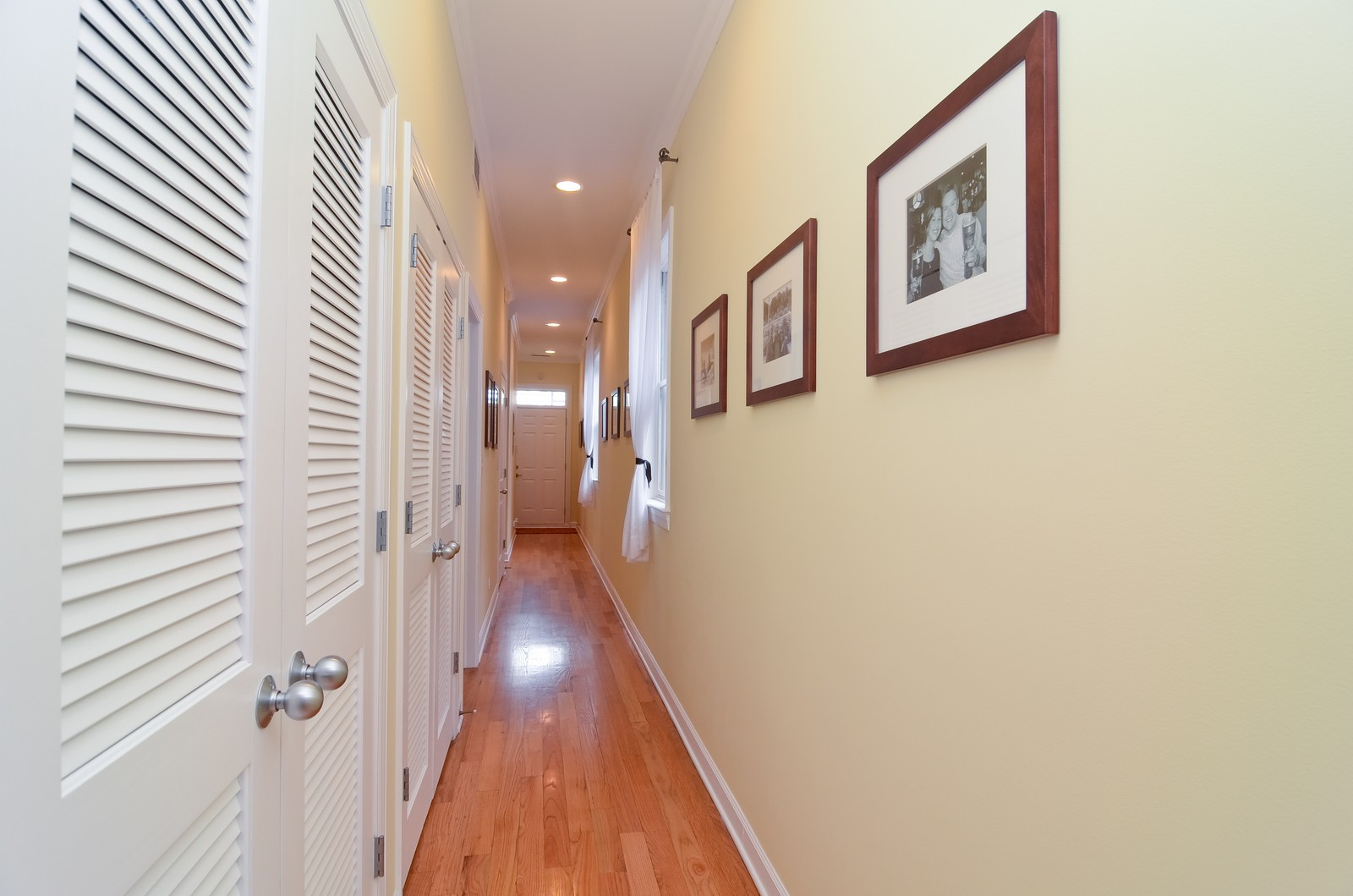 Real Estate Photography - 2068 N Humboldt Blvd, Unit 2, Chicago, IL, 60647 - Hallway
