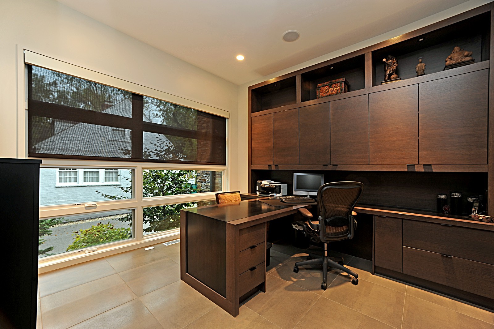 Real Estate Photography - 48 Valley Rd, Highland Park, IL, 60035 - Office