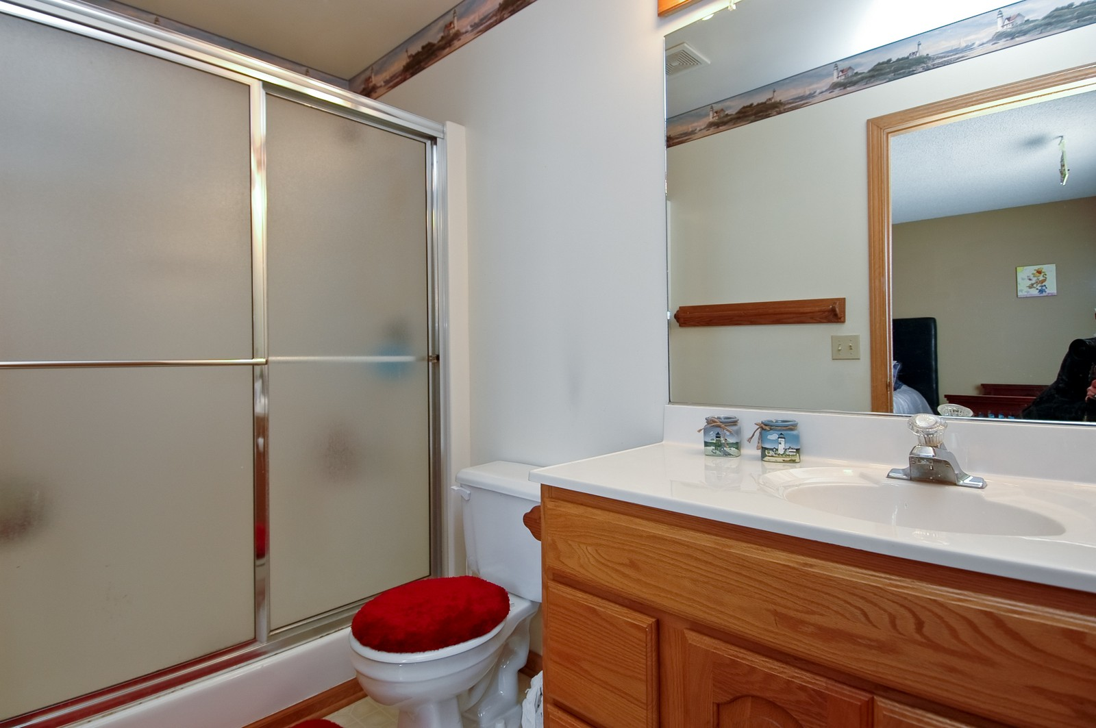 Real Estate Photography - 400 West Wood, Crystal Lake, IL, 60014 - Master Bathroom
