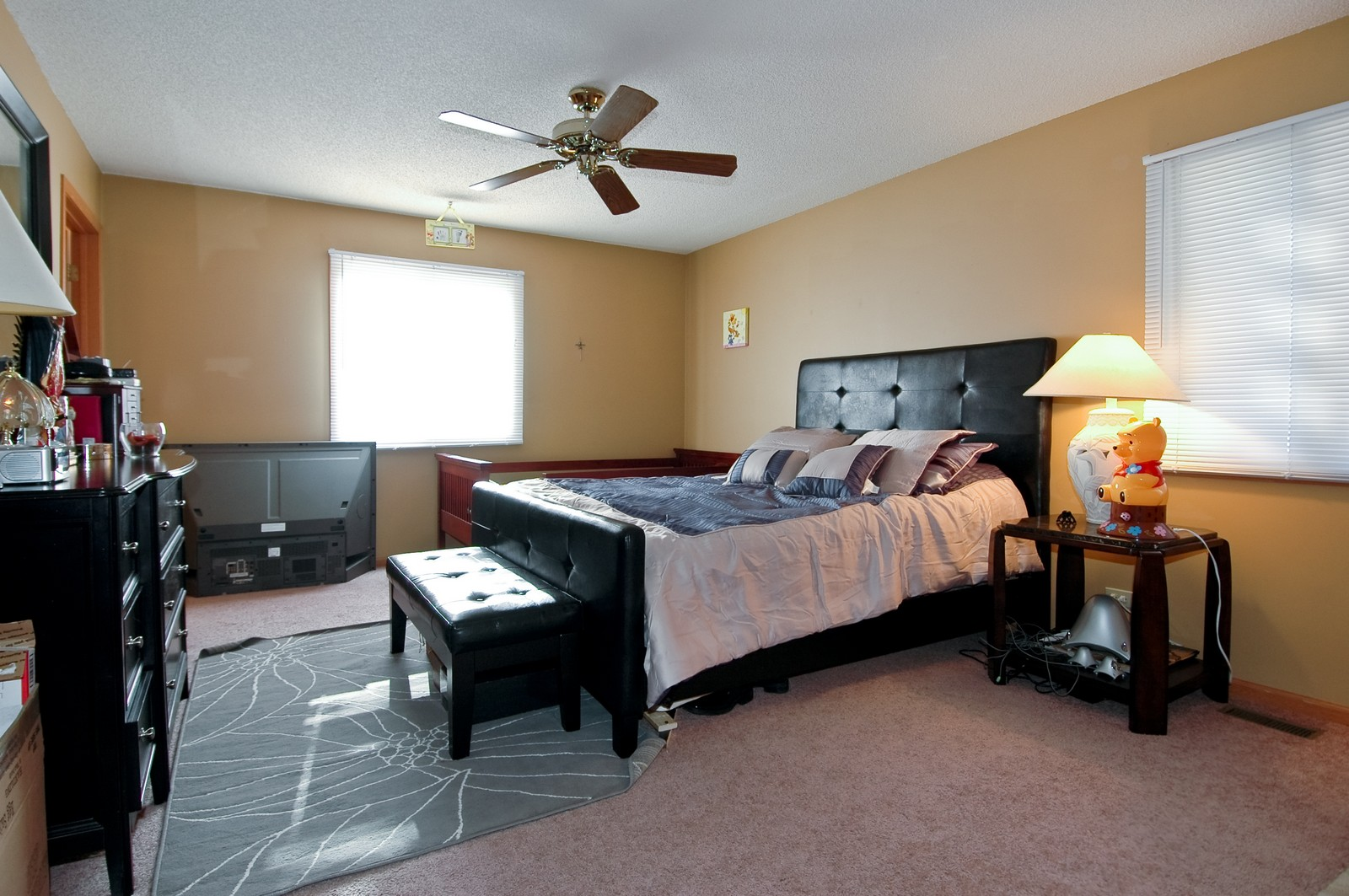 Real Estate Photography - 400 West Wood, Crystal Lake, IL, 60014 - Master Bedroom
