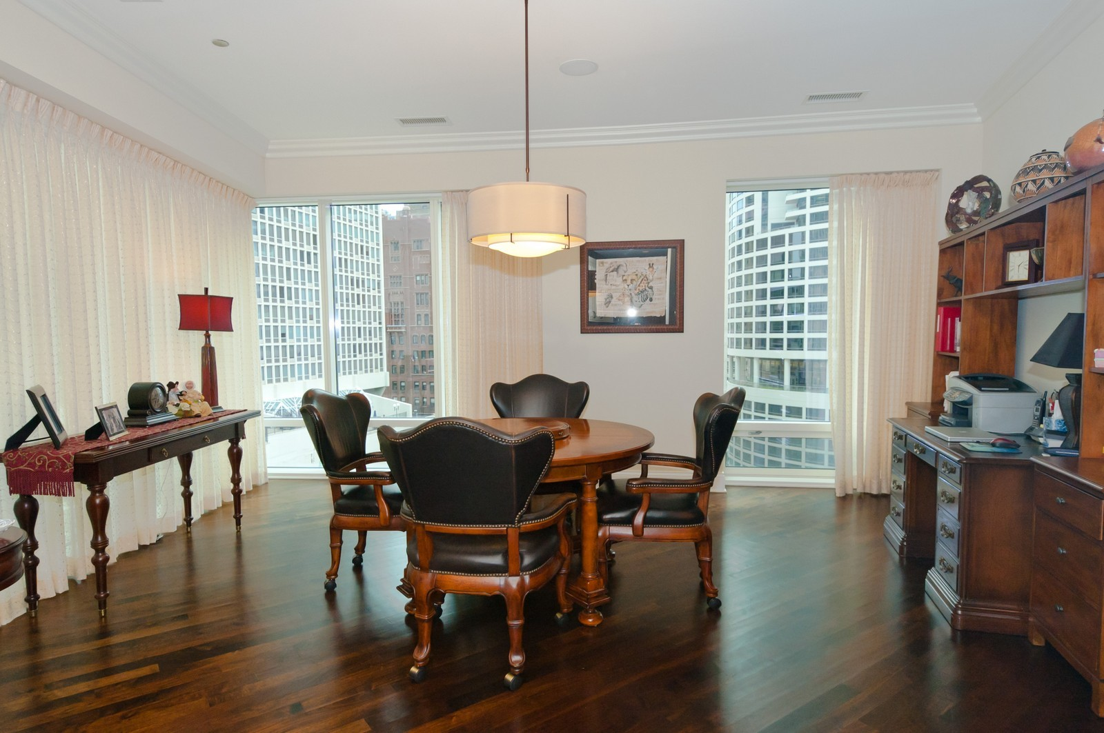 Real Estate Photography - 50 E. Chestnut, Apt 1001, Chicago, IL, 60611 - Entertainment Room