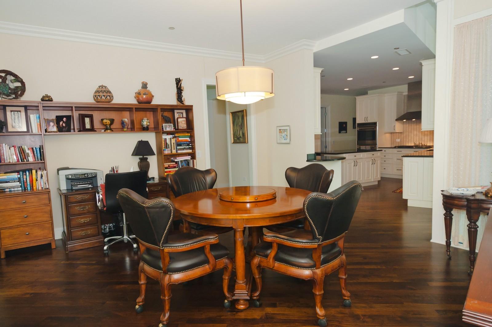 Real Estate Photography - 50 E. Chestnut, Apt 1001, Chicago, IL, 60611 - Den