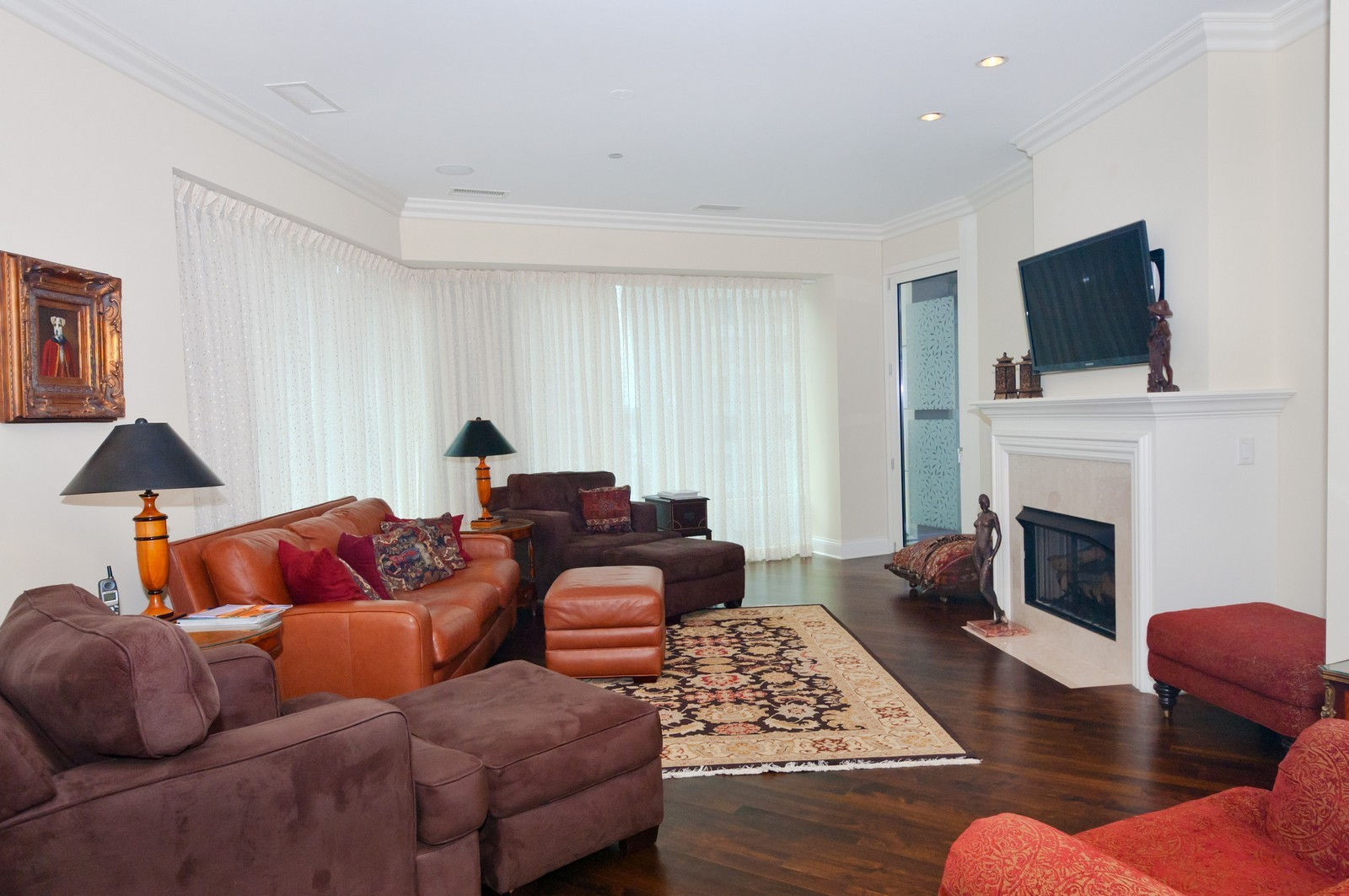 Real Estate Photography - 50 E. Chestnut, Apt 1001, Chicago, IL, 60611 - Family Room 2