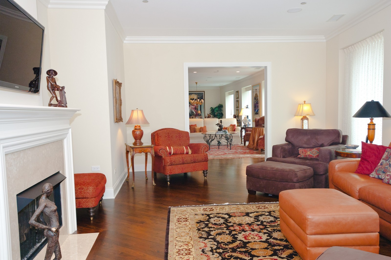 Real Estate Photography - 50 E. Chestnut, Apt 1001, Chicago, IL, 60611 - Family Room 1