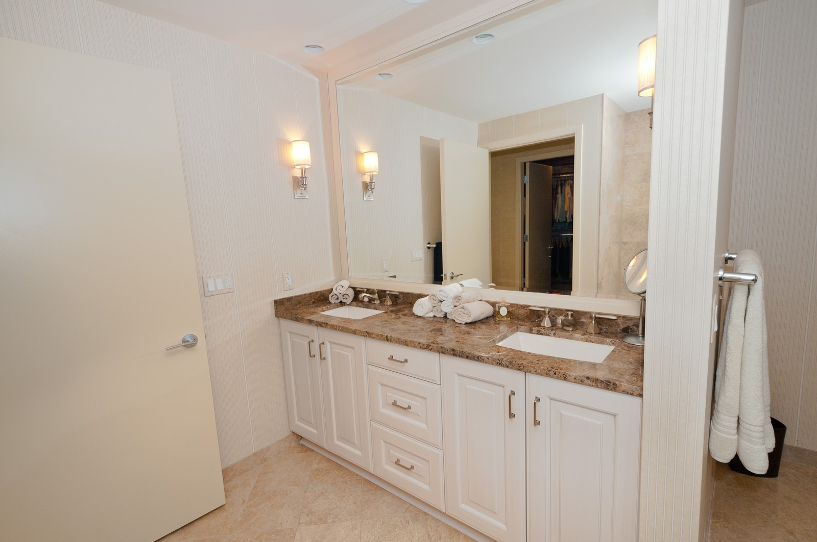 Real Estate Photography - 60 E. Monroe, 5901, Chicago, IL, 60603 - Master Bathroom
