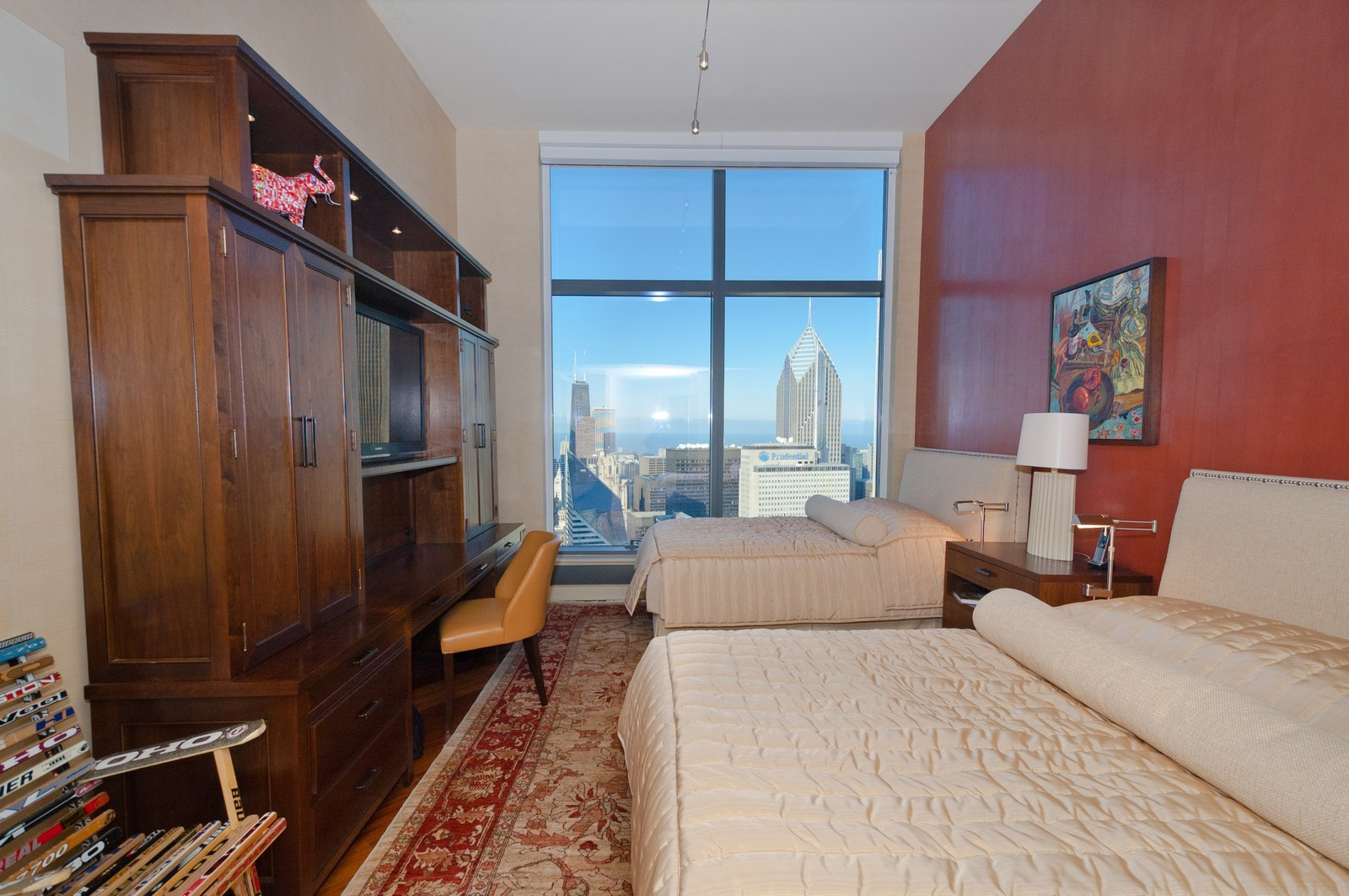 Real Estate Photography - 60 E. Monroe, 5901, Chicago, IL, 60603 - Master Bedroom