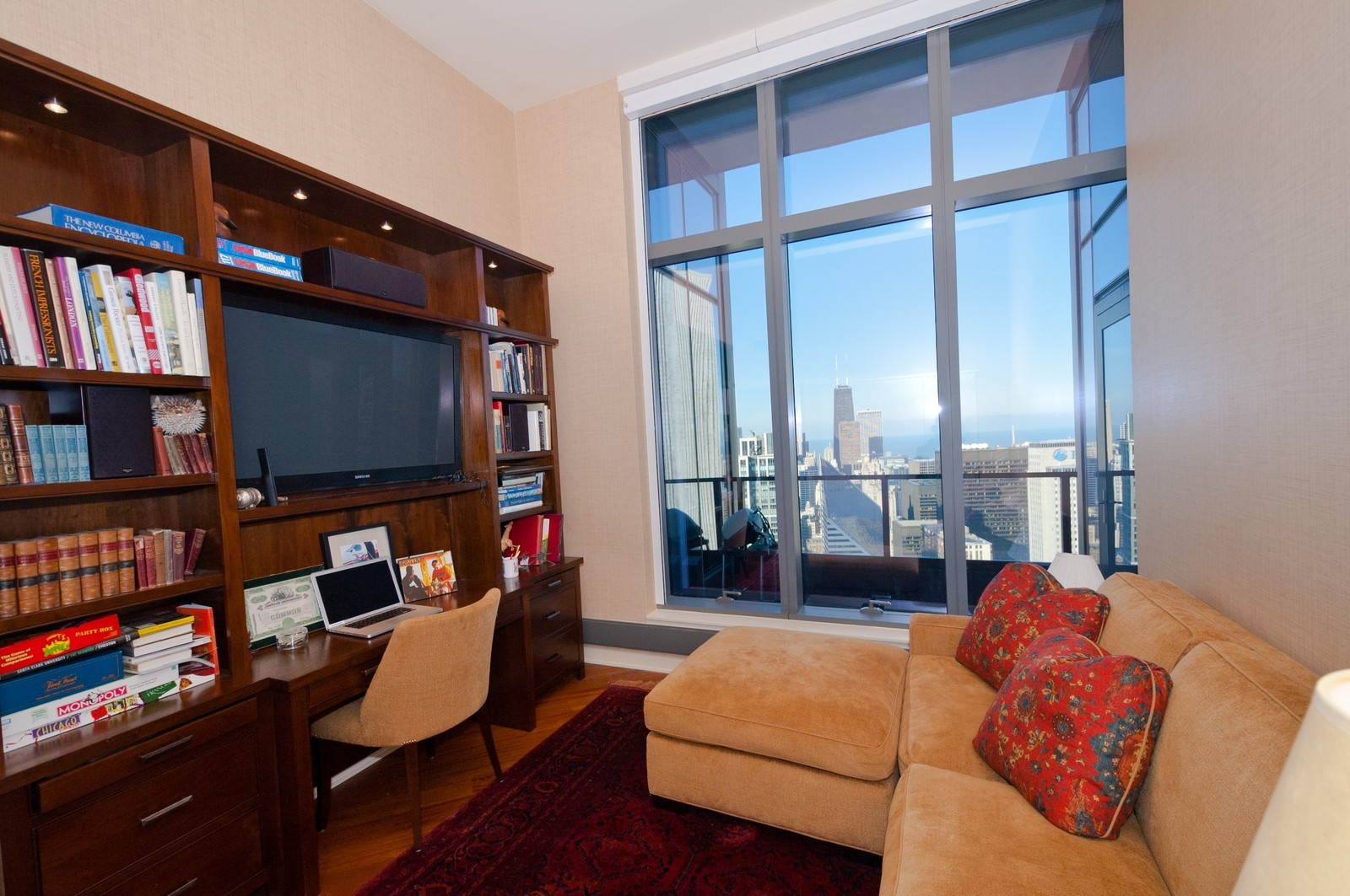 Real Estate Photography - 60 E. Monroe, 5901, Chicago, IL, 60603 - 2nd Bedroom
