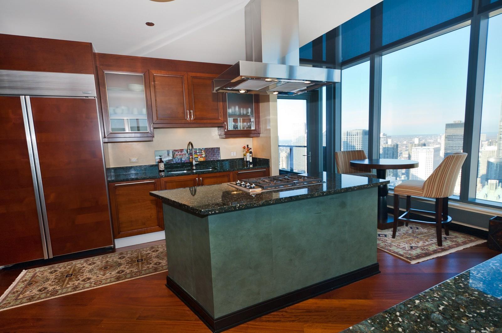 Real Estate Photography - 60 E. Monroe, 5901, Chicago, IL, 60603 - Kitchen 2