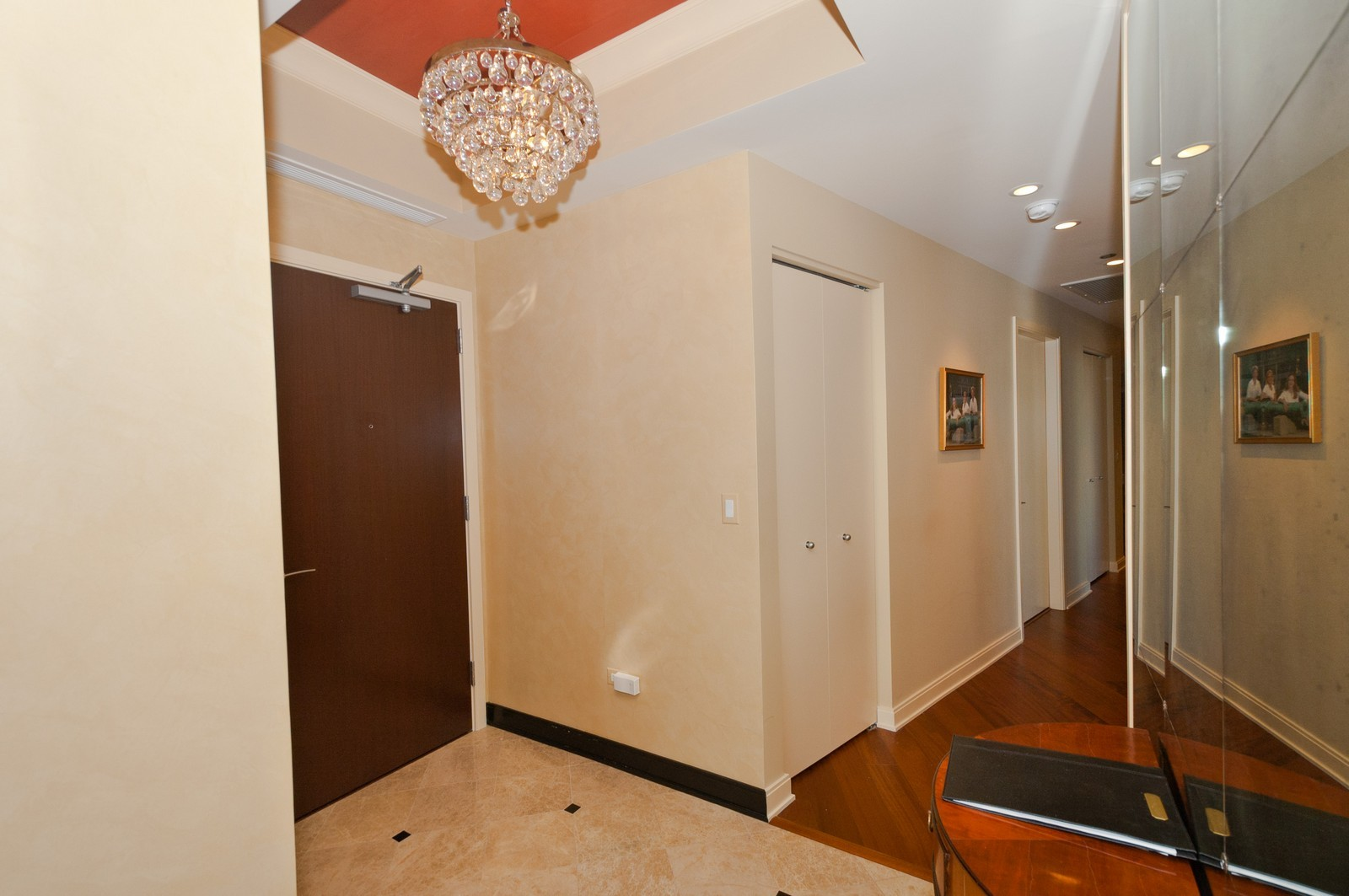 Real Estate Photography - 60 E. Monroe, 5901, Chicago, IL, 60603 - Foyer