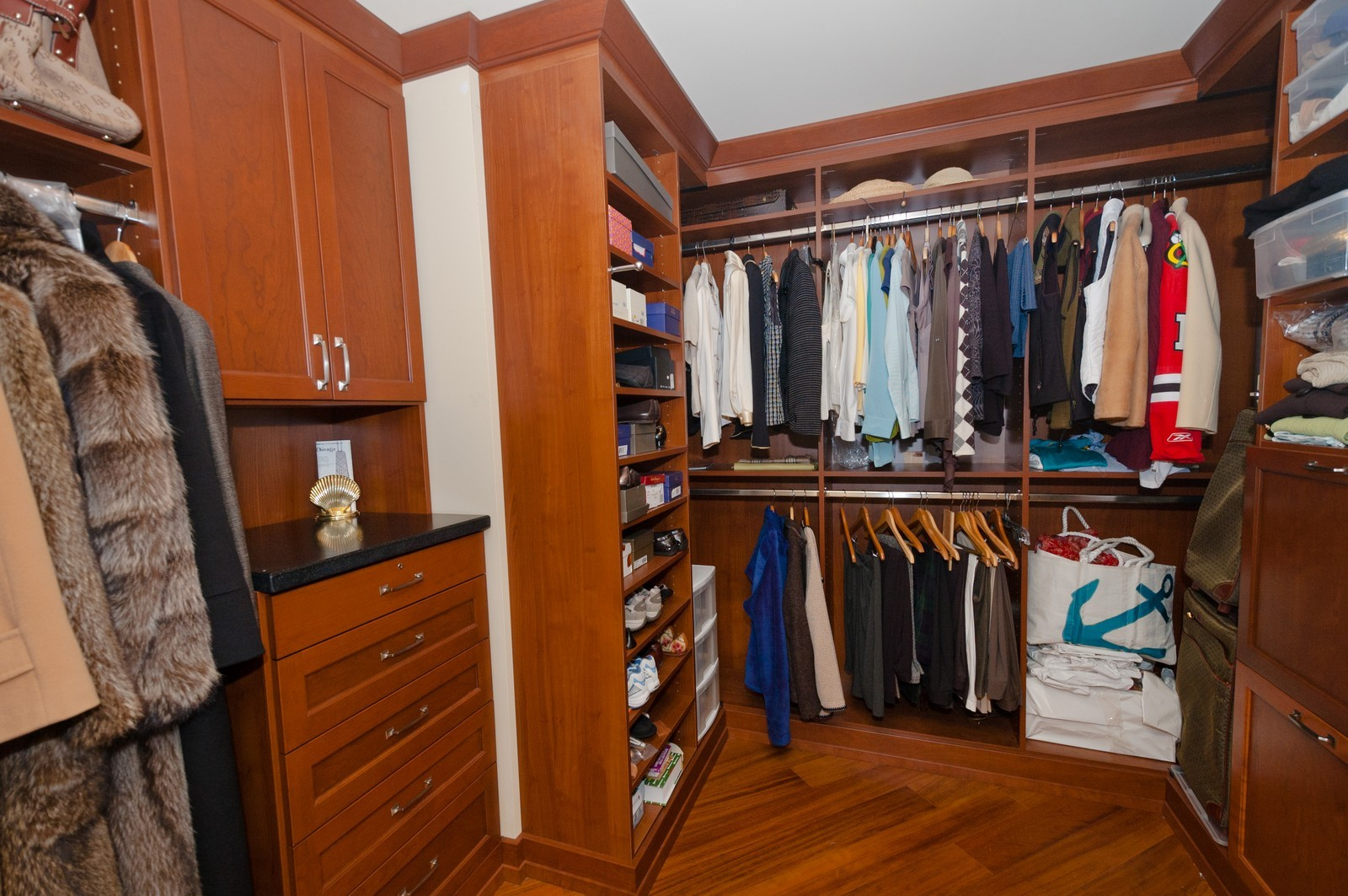 Real Estate Photography - 60 E. Monroe, 5901, Chicago, IL, 60603 - Closet