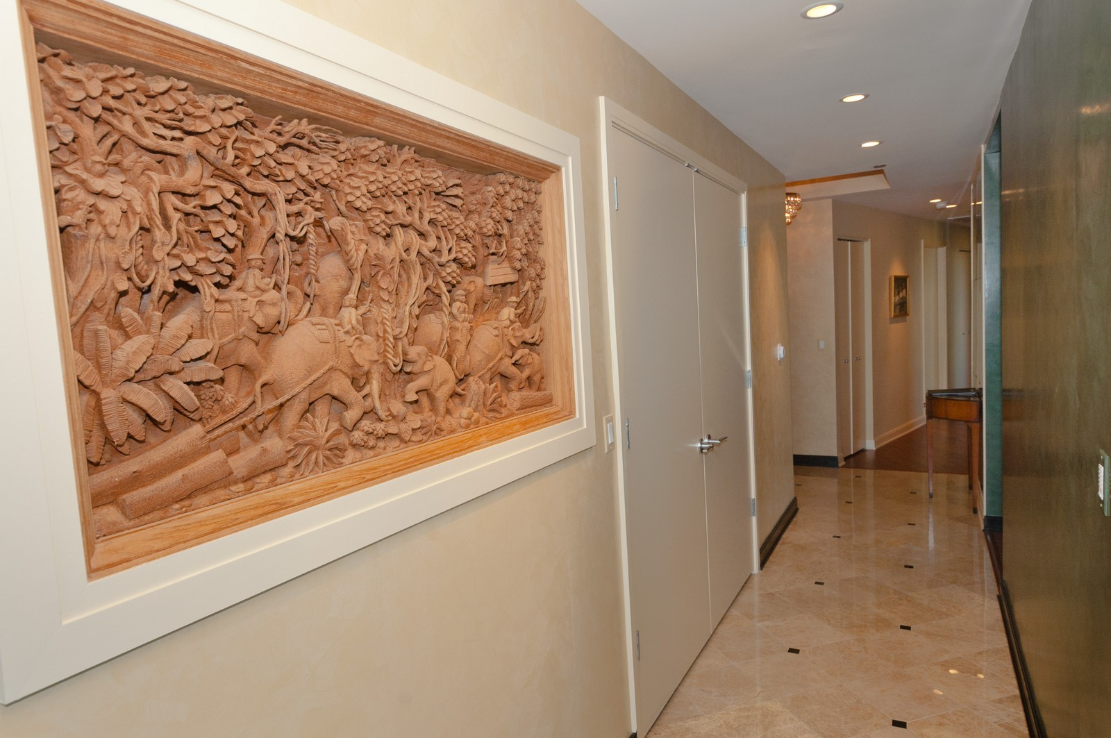 Real Estate Photography - 60 E. Monroe, 5901, Chicago, IL, 60603 - Hallway