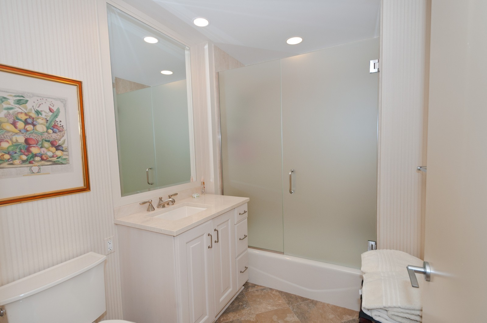Real Estate Photography - 60 E. Monroe, 5901, Chicago, IL, 60603 - 3rd Bathroom