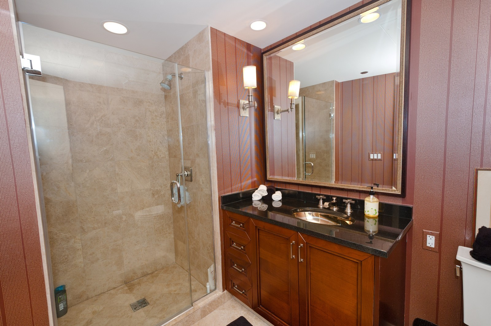 Real Estate Photography - 60 E. Monroe, 5901, Chicago, IL, 60603 - 2nd Bathroom