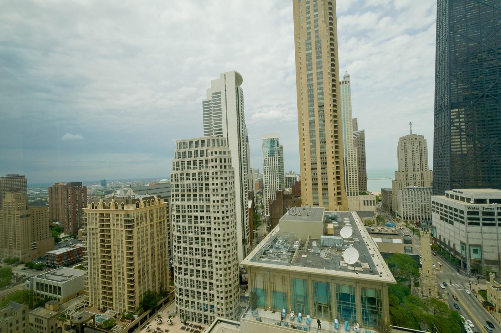 Real Estate Photography - 100 E Huron, 2103, Chicago, IL, 60611 - City View