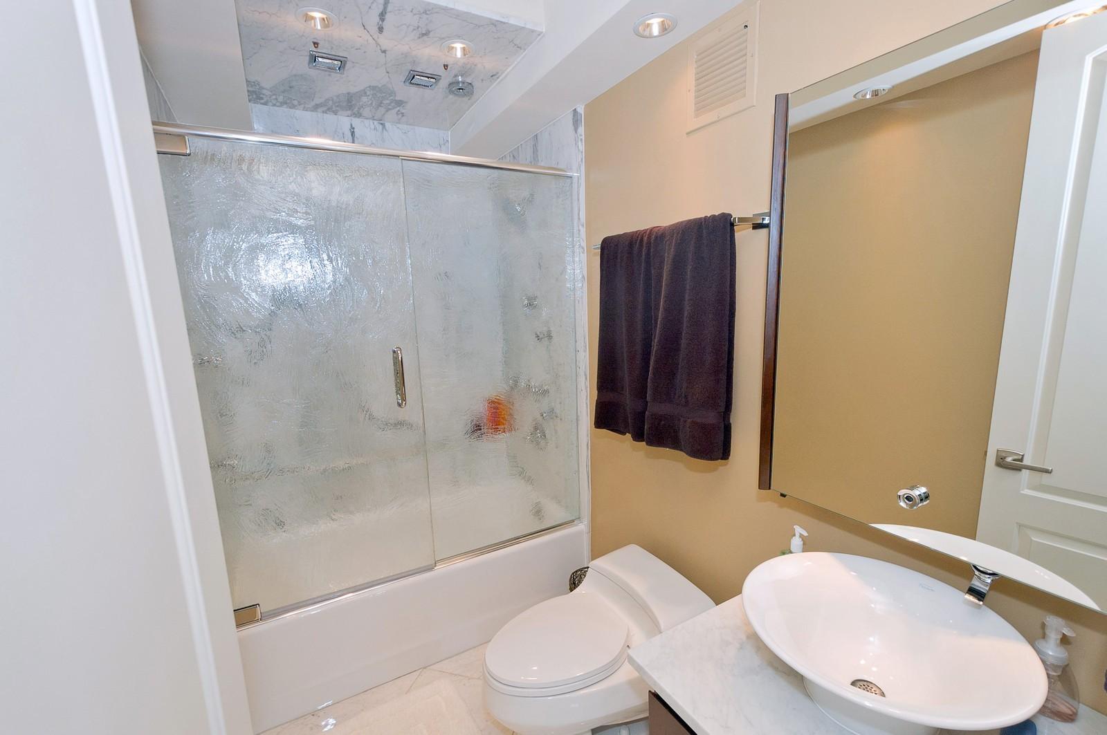 Real Estate Photography - 100 E Huron, 2103, Chicago, IL, 60611 - Master Bathroom
