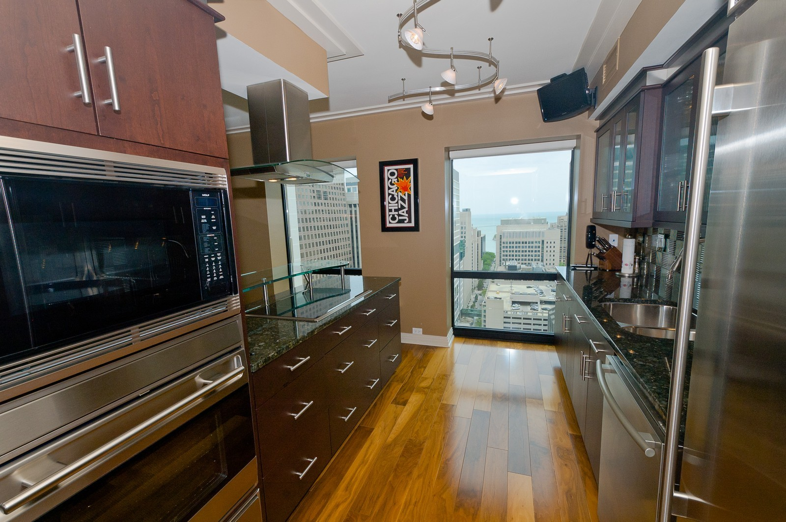Real Estate Photography - 100 E Huron, 2103, Chicago, IL, 60611 - Kitchen