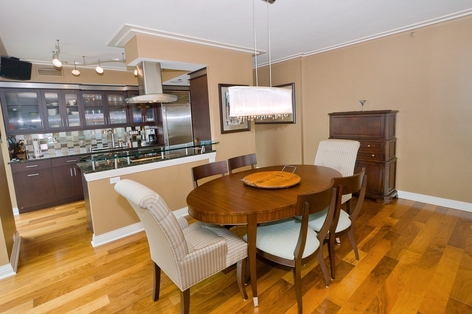 Real Estate Photography - 100 E Huron, 2103, Chicago, IL, 60611 - Dining Room