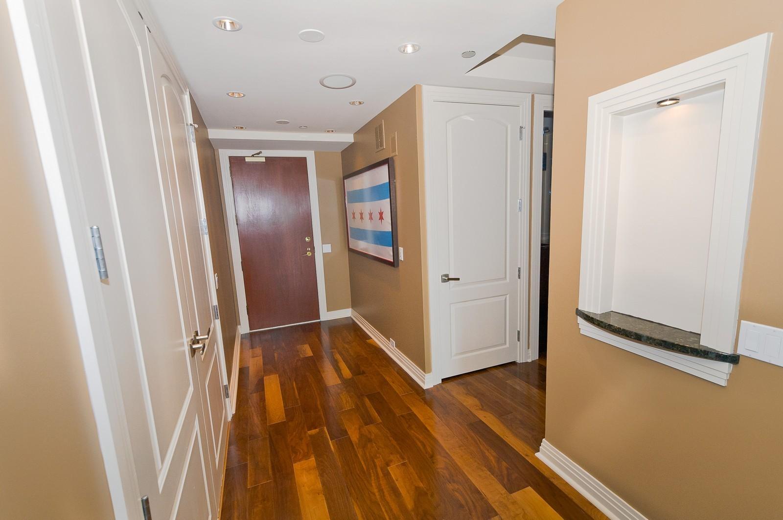 Real Estate Photography - 100 E Huron, 2103, Chicago, IL, 60611 - Foyer