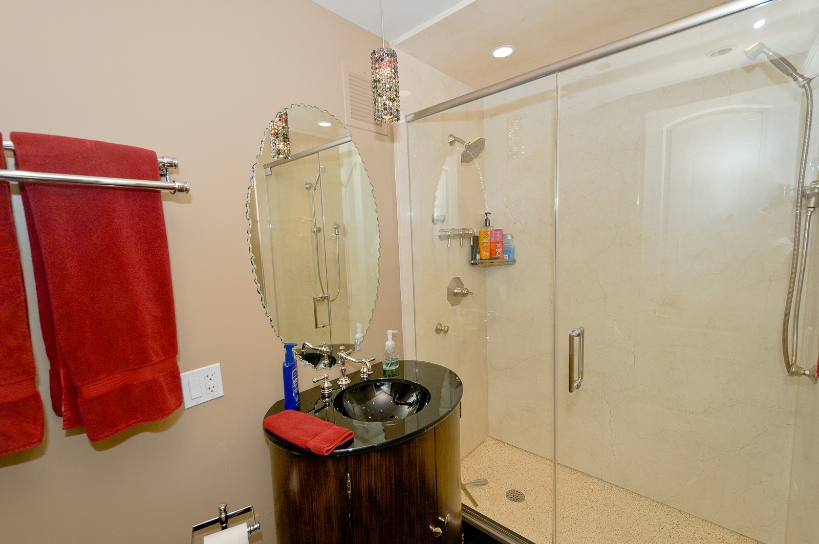 Real Estate Photography - 100 E Huron, 2103, Chicago, IL, 60611 - Bathroom