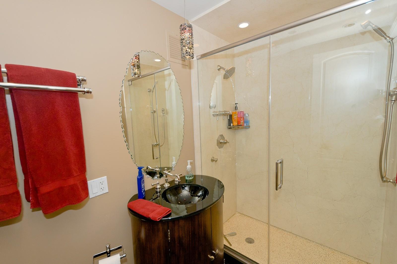 Real Estate Photography - 100 E Huron, 2103, Chicago, IL, 60611 - Bathroom