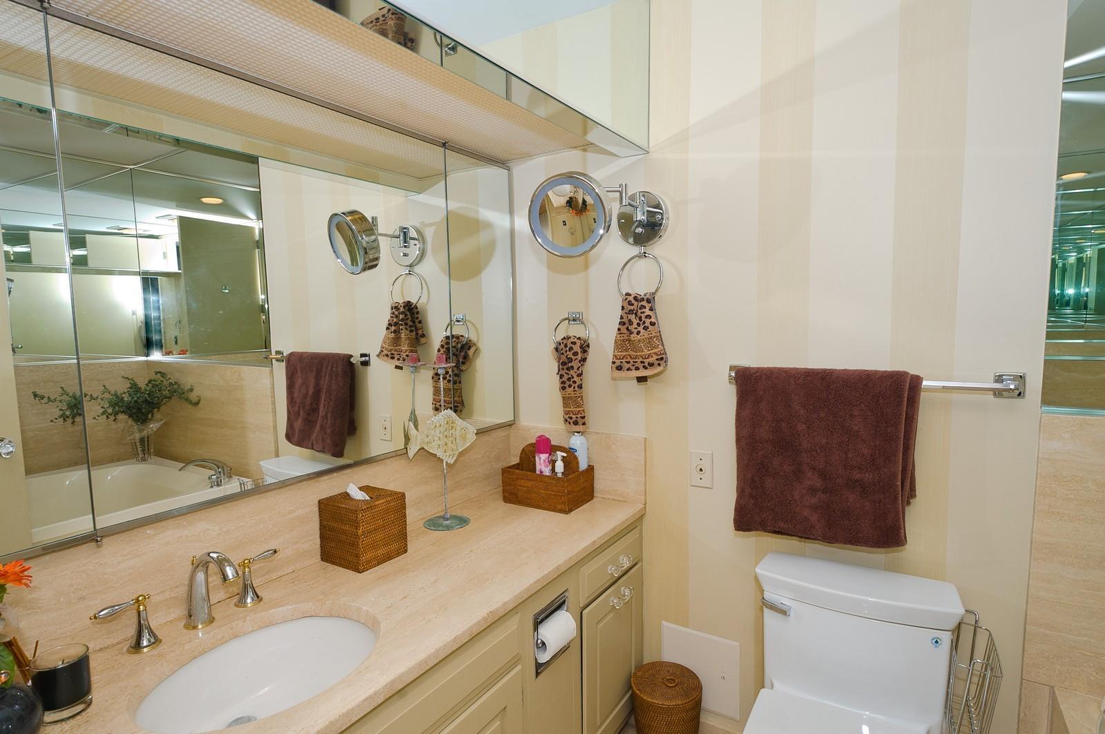 Real Estate Photography - 180 E Pearson St, 4806, Chicago, IL, 60611 - Bathroom