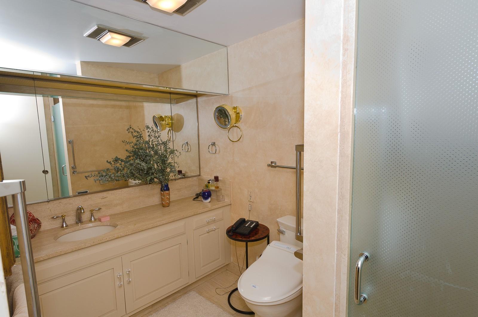 Real Estate Photography - 180 E Pearson St, 4806, Chicago, IL, 60611 - Master Bathroom