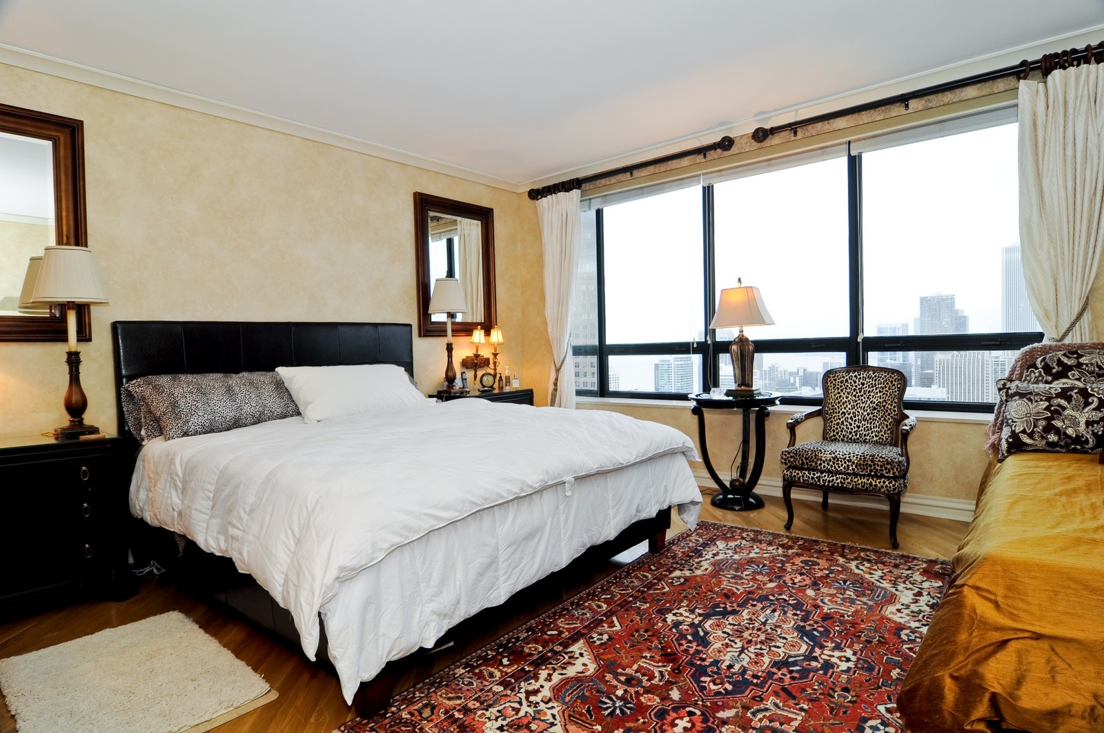 Real Estate Photography - 180 E Pearson St, 4806, Chicago, IL, 60611 - Master Bedroom