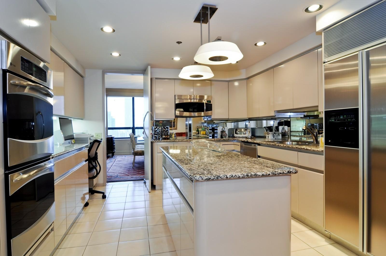 Real Estate Photography - 180 E Pearson St, 4806, Chicago, IL, 60611 - Kitchen