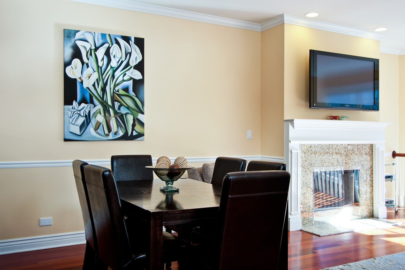 Real Estate Photography - 536 W Oakdale, 1, Chicago, IL, 60657 - Dining Room