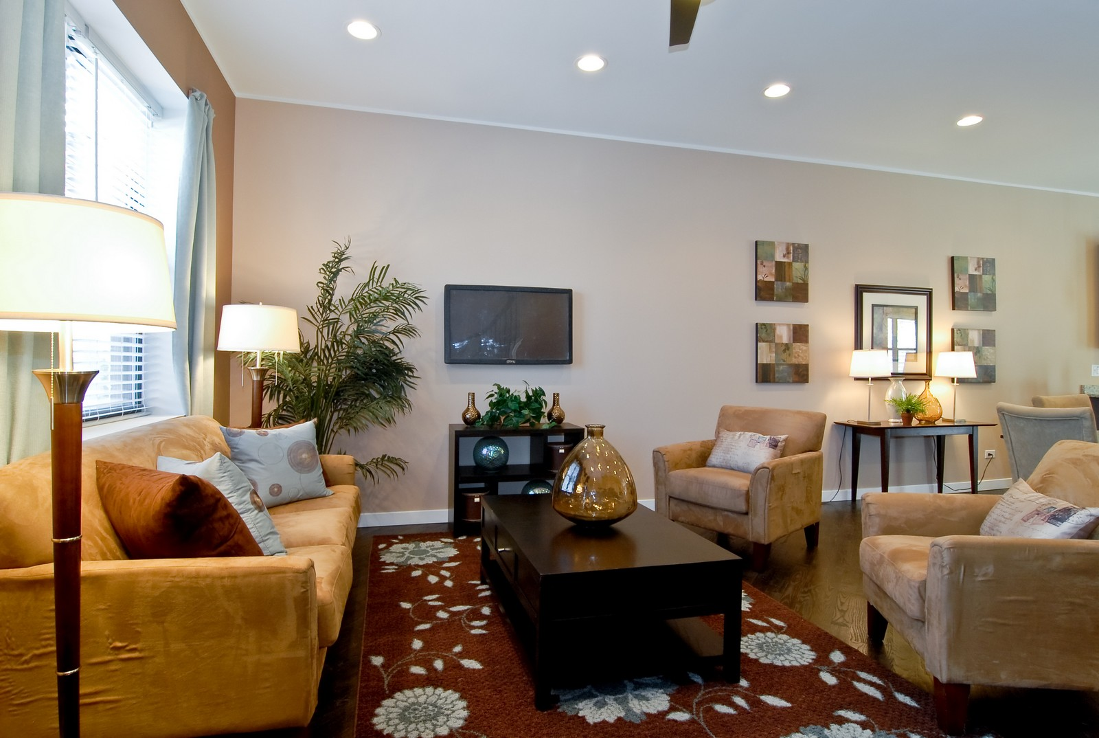 Real Estate Photography - 1738 N. Troy, Chicago, IL, 60647 - Living Room