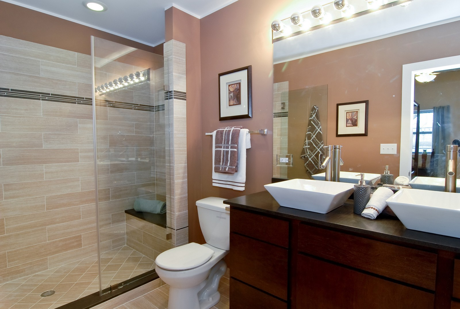 Real Estate Photography - 1738 N. Troy, Chicago, IL, 60647 - Master Bathroom