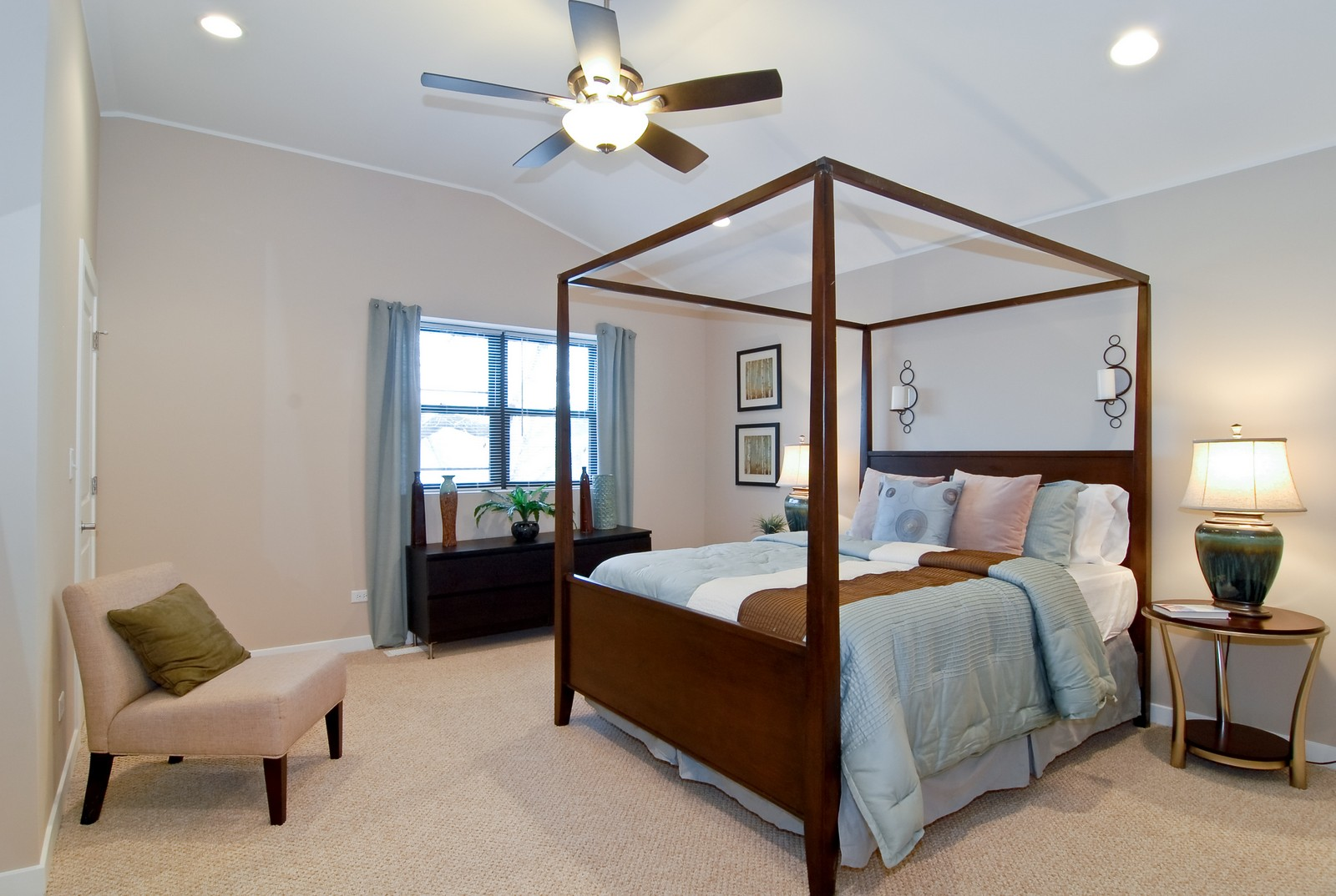 Real Estate Photography - 1738 N. Troy, Chicago, IL, 60647 - Master Bedroom