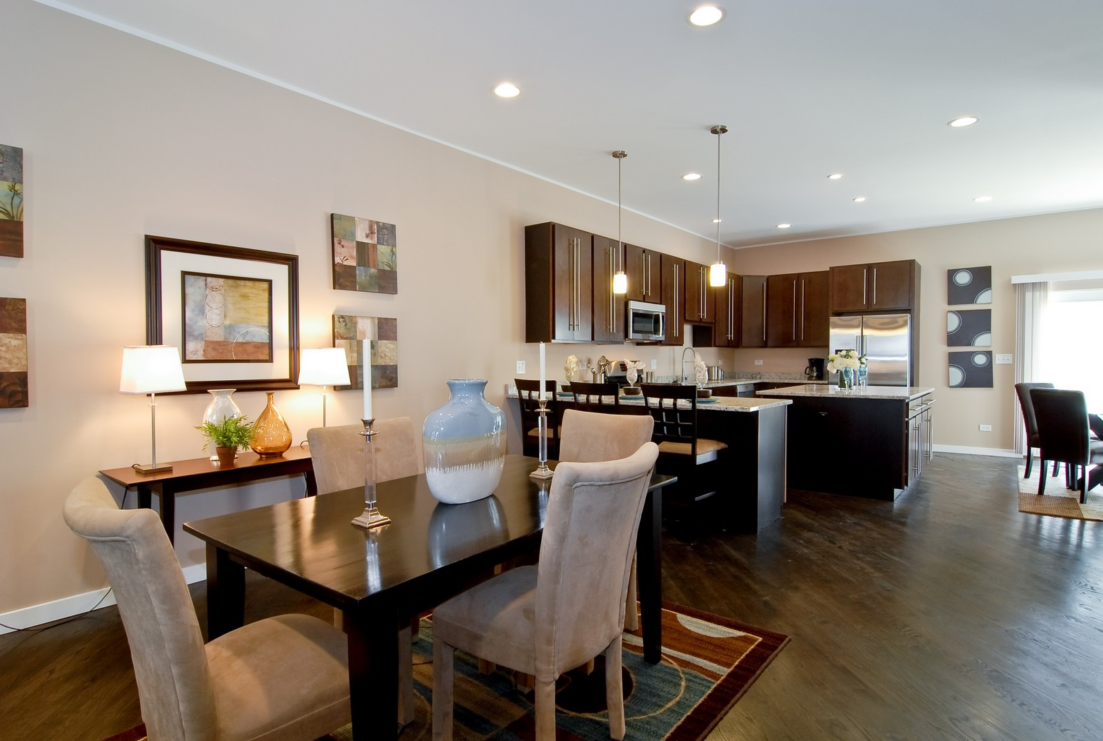 Real Estate Photography - 1738 N. Troy, Chicago, IL, 60647 - Dining Room