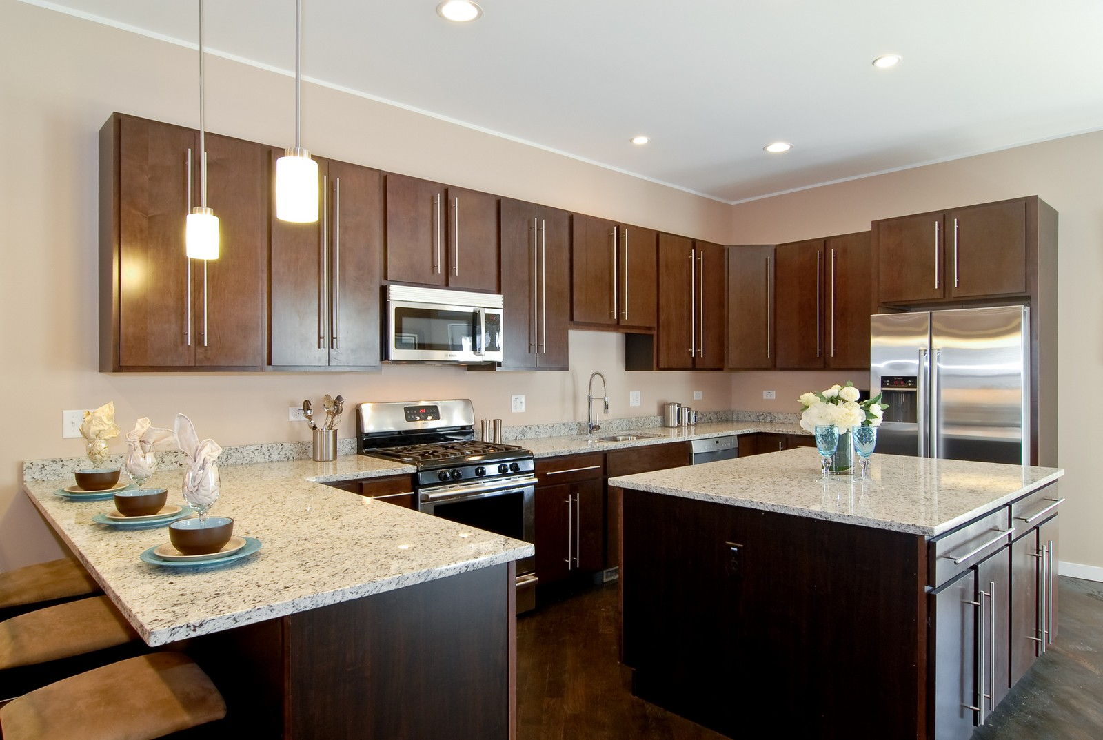 Real Estate Photography - 1738 N. Troy, Chicago, IL, 60647 - Kitchen