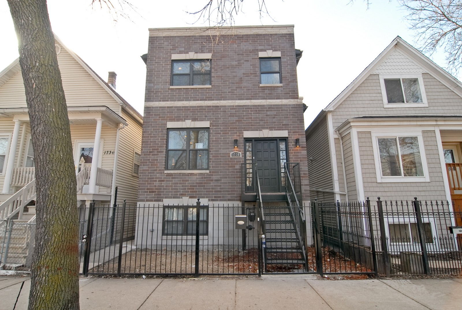 Real Estate Photography - 1738 N. Troy, Chicago, IL, 60647 - Front View