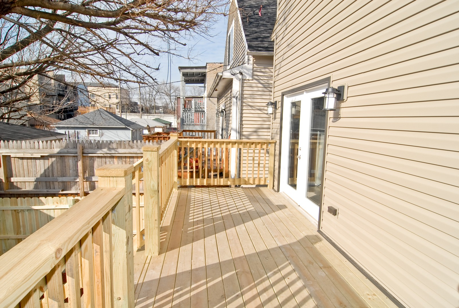 Real Estate Photography - 1738 N. Troy, Chicago, IL, 60647 - Deck