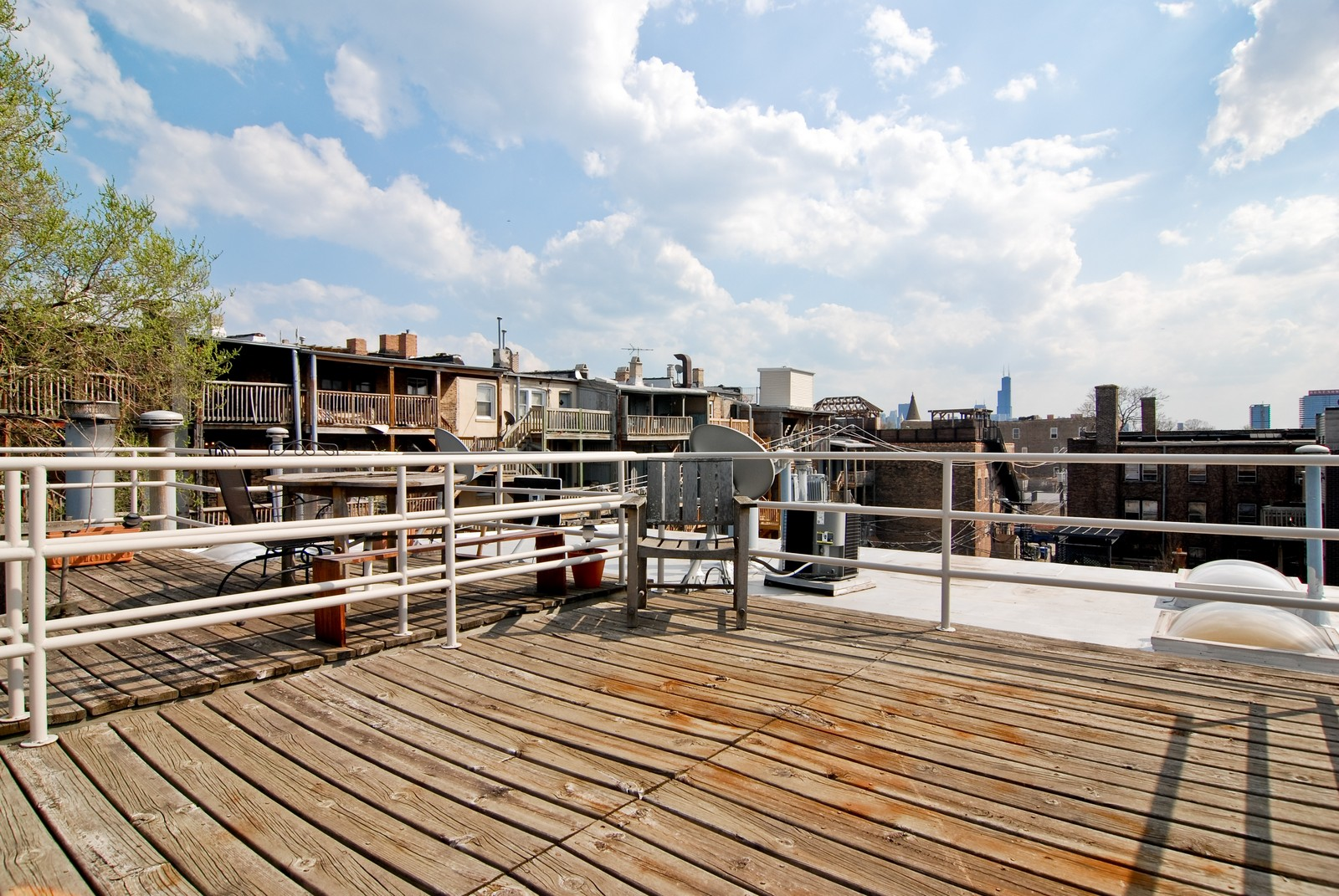 Real Estate Photography - 811 W. Webster, C, Chicago, IL, 60614 - Roof Deck