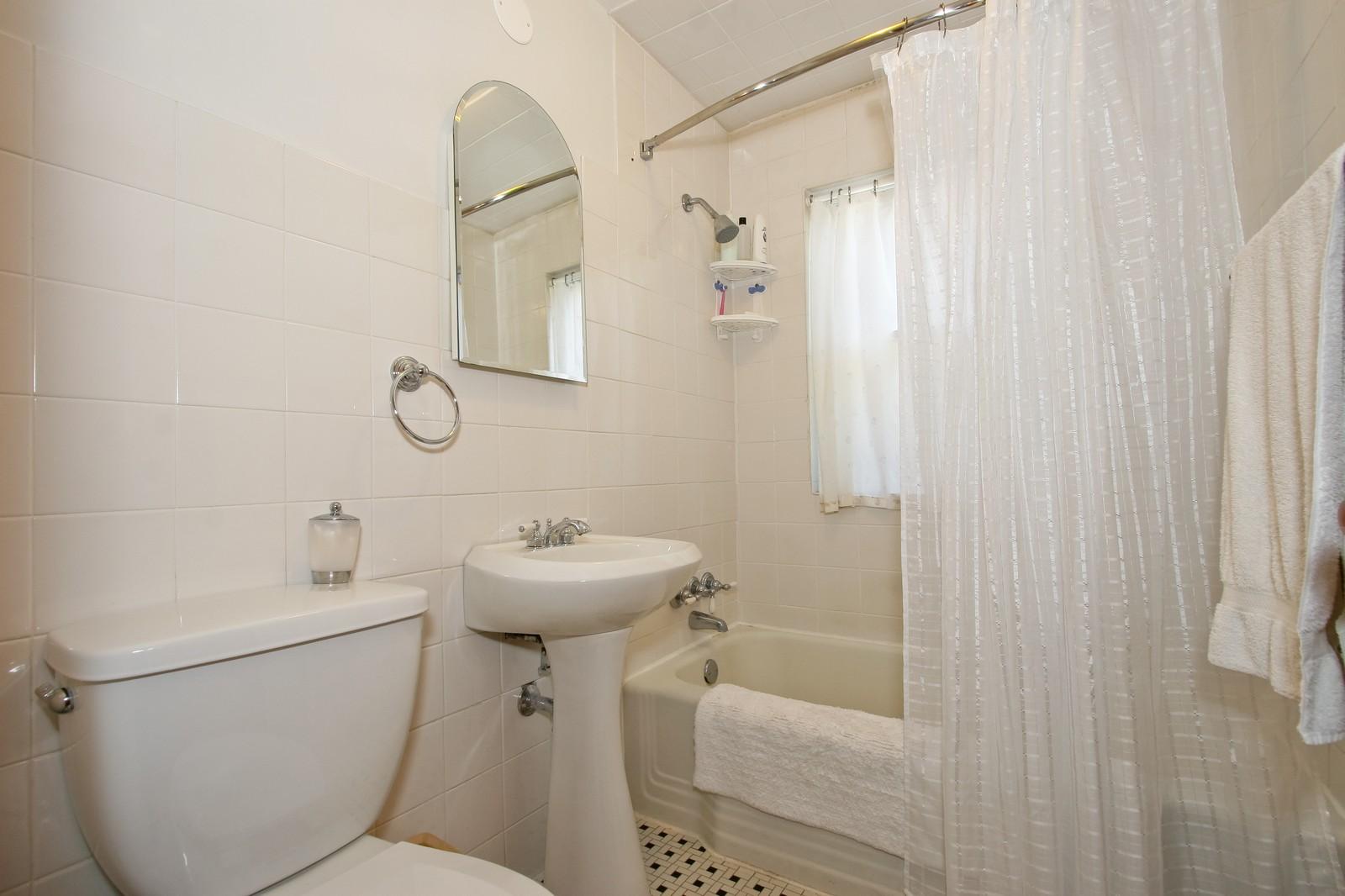 Real Estate Photography - 11246 S Avenue L, Chicago, IL, 60617 - Bathroom