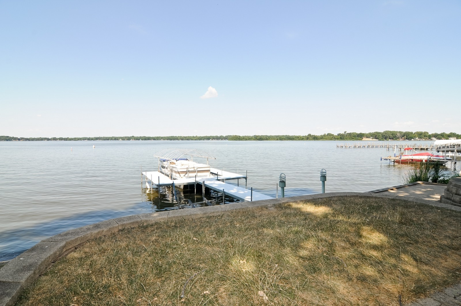 Real Estate Photography - 16 S. Pistakee Lake, Fox Lake, IL, 60020 - Pier