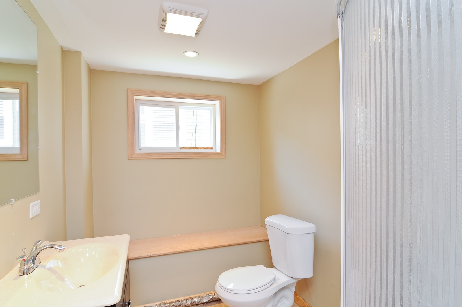 Real Estate Photography - 16 S. Pistakee Lake, Fox Lake, IL, 60020 - Lower Level Bathroom #2