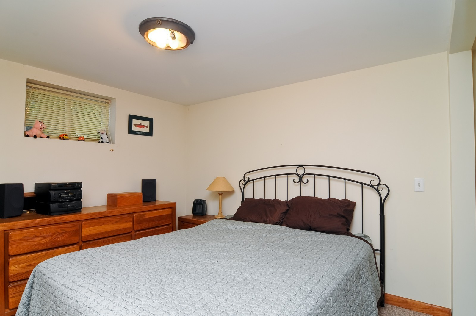 Real Estate Photography - 16 S. Pistakee Lake, Fox Lake, IL, 60020 - 3rd Bedroom