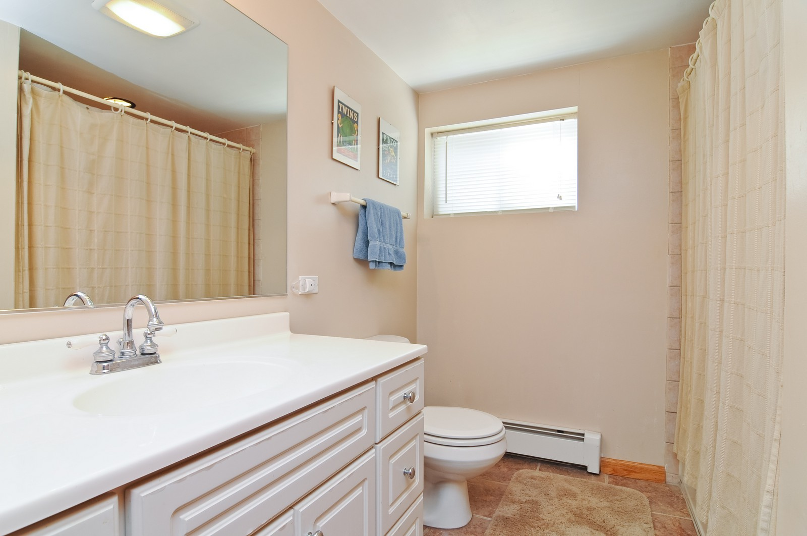 Real Estate Photography - 16 S. Pistakee Lake, Fox Lake, IL, 60020 - Lower Level Bathroom #1