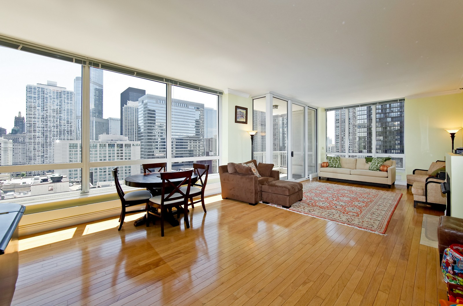 Real Estate Photography - 55 E Erie, 2005, Chicago, IL, 60611 - Living Room