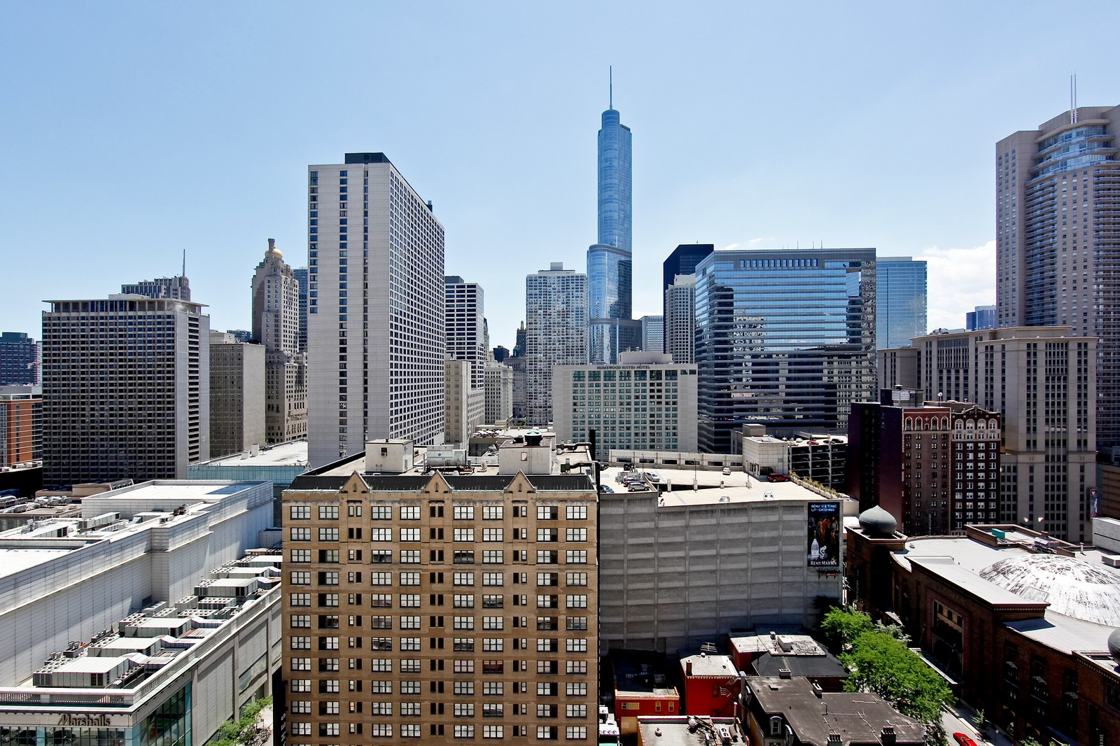 Real Estate Photography - 55 E Erie, 2005, Chicago, IL, 60611 - City View