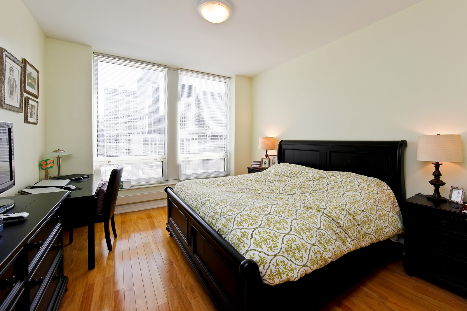 Real Estate Photography - 55 E Erie, 2005, Chicago, IL, 60611 - Master Bedroom