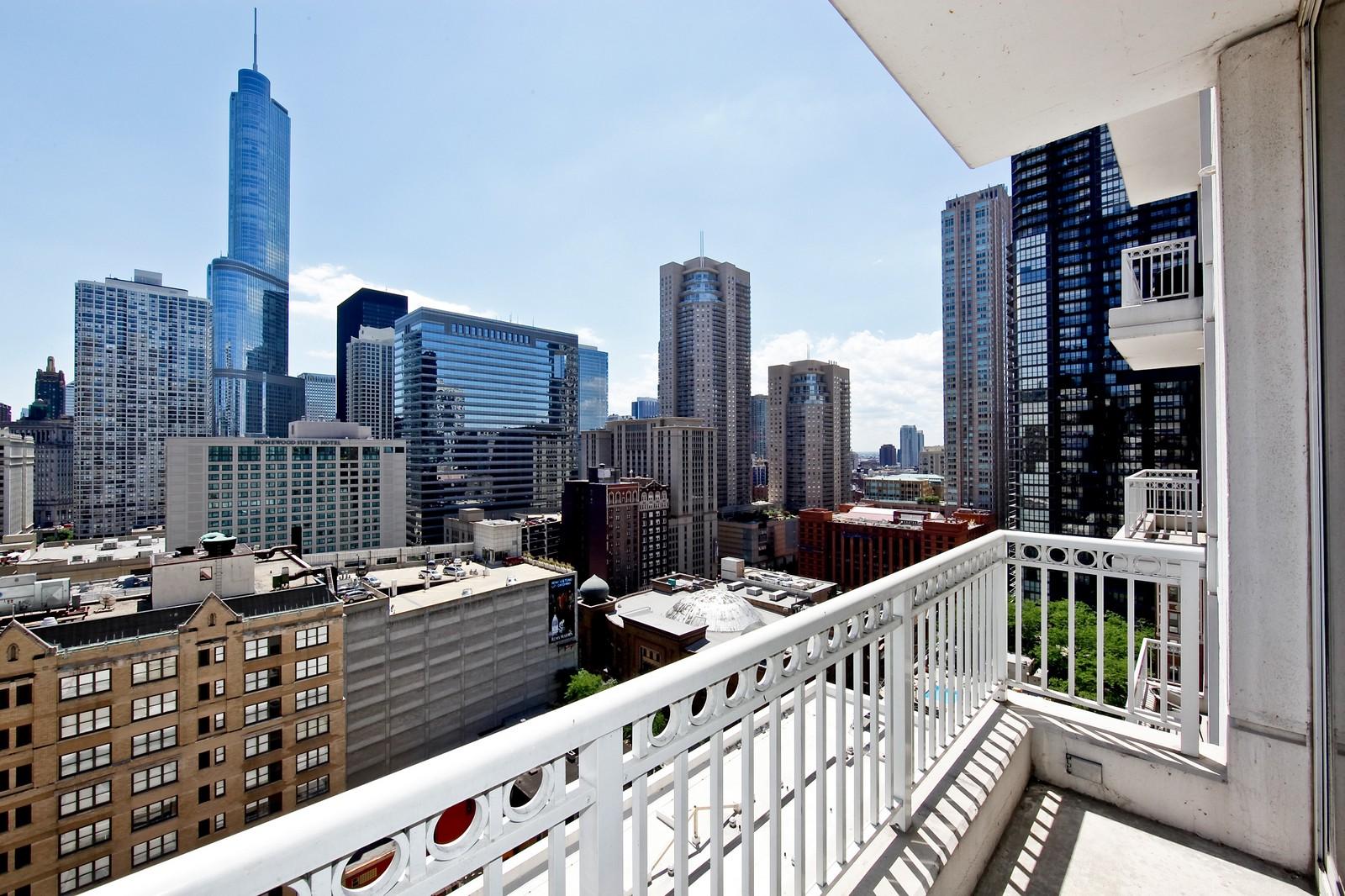 Real Estate Photography - 55 E Erie, 2005, Chicago, IL, 60611 - Balcony