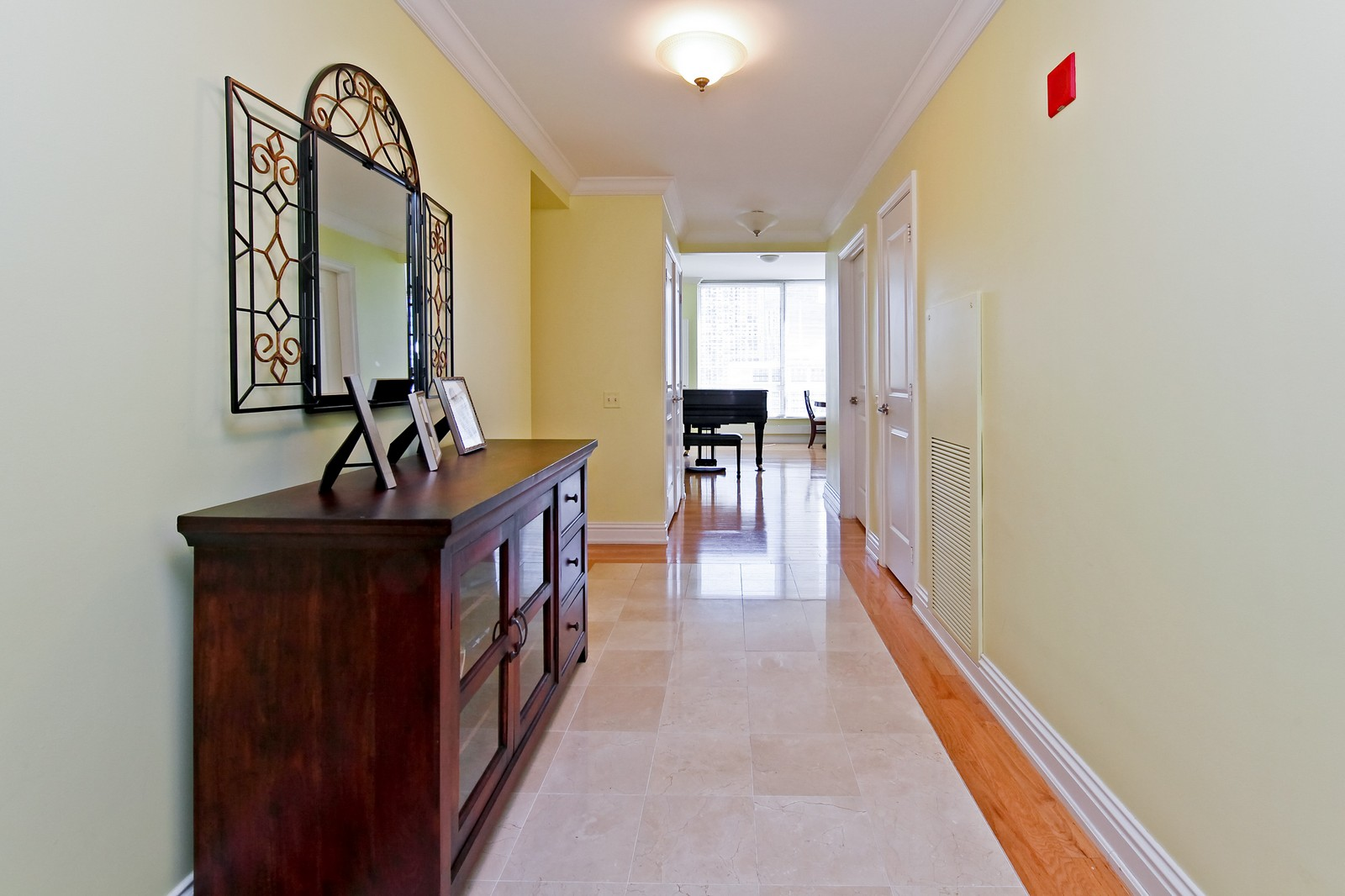 Real Estate Photography - 55 E Erie, 2005, Chicago, IL, 60611 - Hallway