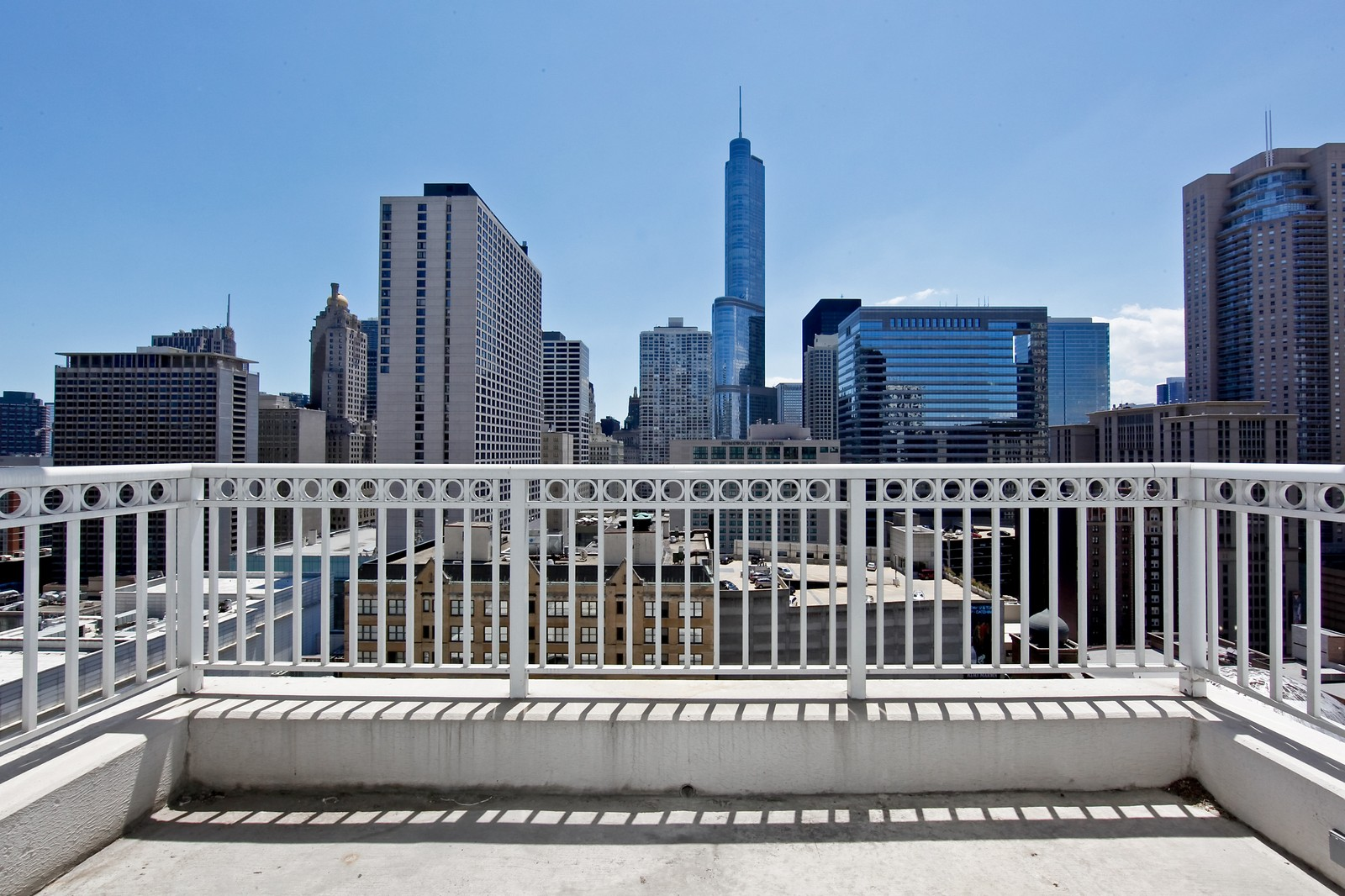 Real Estate Photography - 55 E Erie, 2005, Chicago, IL, 60611 - Balcony