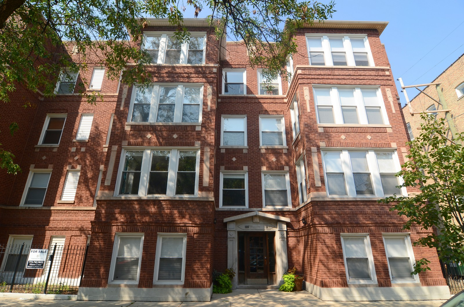 Real Estate Photography - 3516 W. Leland Ave, 1, Chicago, IL, 60625 - Front View